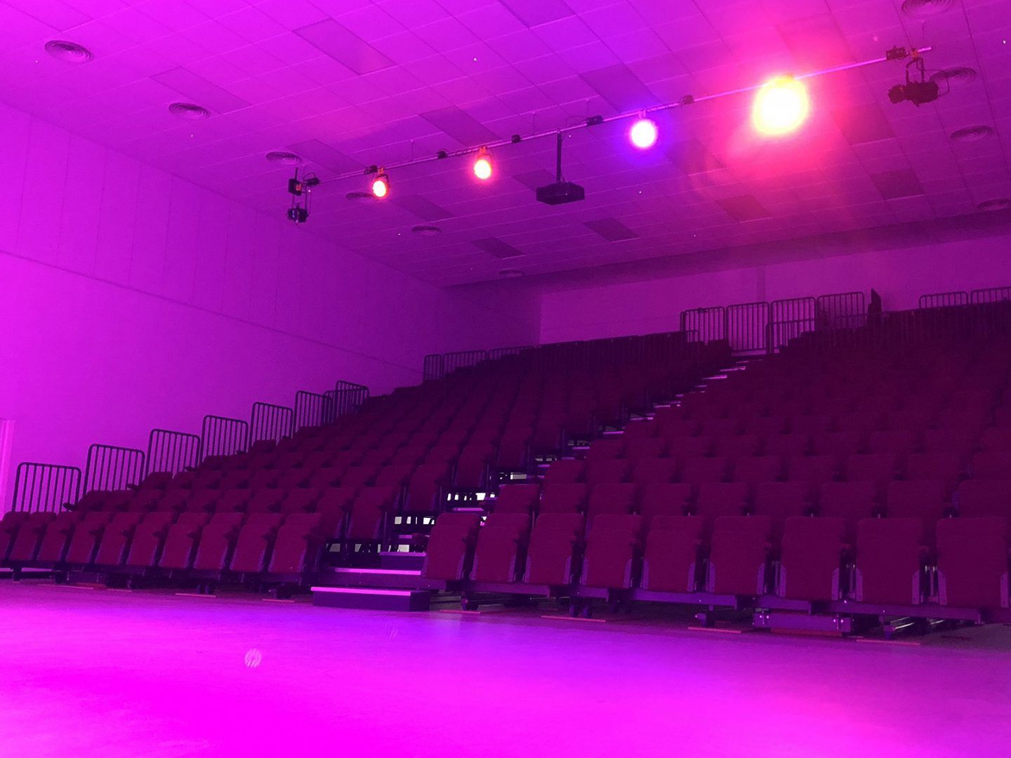 The Q Theatre – Behind the Scenes