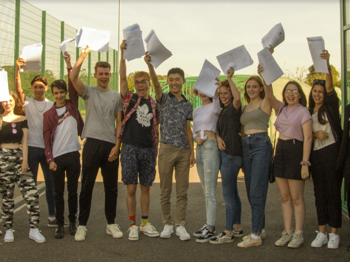 More students achieve strong passes in both English and Maths!