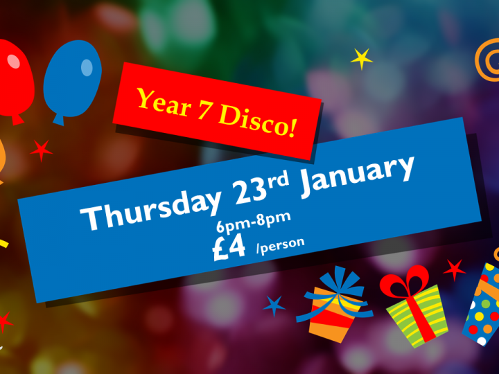 Year 7 Disco, 23 January 2020